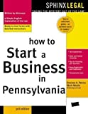 img - for How to Start a Business in Pennsylvania by Mark Warda (2003-09-04) book / textbook / text book