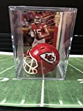 Kansas City Chiefs NFL Helmet Shadowbox w/Patrick Mahomes card