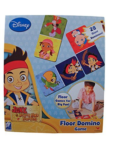 Disney Jake and the Neverland Pirates Floor Domino Game - 1