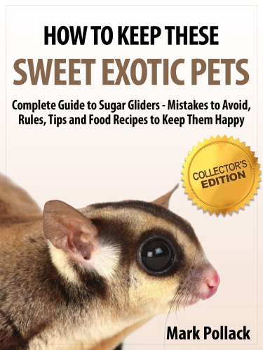 How to Keep These Sweet Exotic Pets - Complete Guide to Sugar Gliders - Mistakes to Avoid, Rules, Tips and Food Recipes to Keep Them Happy - Collector's Edition (Hamster Recipe Book compare prices)