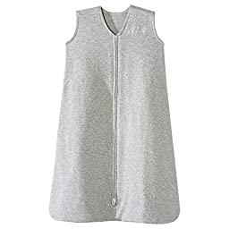 HALO SleepSack Wearable Blanket Cotton - Heathered Gray (Large)