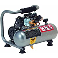 Senco PC1010 1-Horsepower Peak, 1/2 hp running 1-Gallon Compressor by Senco
