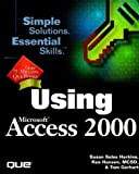 img - for Using Microsoft Access 2000 by Susan Sales Harkins (1999-03-06) book / textbook / text book