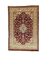 L'Eden del Tappeto Alfombra Kashmirian F/Seta Marrón / Beige 177  x  121 cm