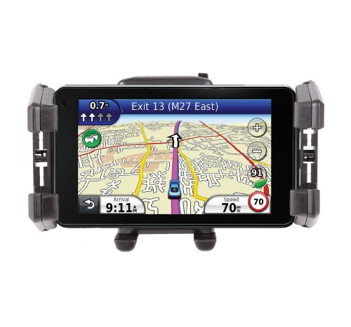 DURAGADGET Sat Nav Holder & Mount For Garmin nuvi 3790T, nüvi 3490LMT, nüLink! 2390, 2240, 3760T, 2360LT, 1690 & Edge 800