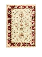 Eden Carpets Alfombra Zeigler Beige/Rojo 175 x 123 cm
