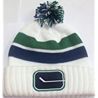 Vancouver Canucks Vintage Cuffed Knit Hat by Reebok KE63Z