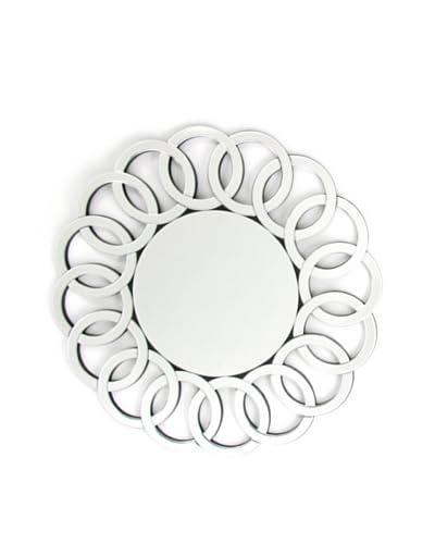 Charleston Bridgeport Round Beveled Mirror