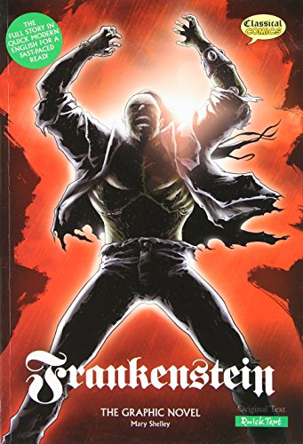 Frankenstein: The Graphic Novel (American English, Quick Text Edition)