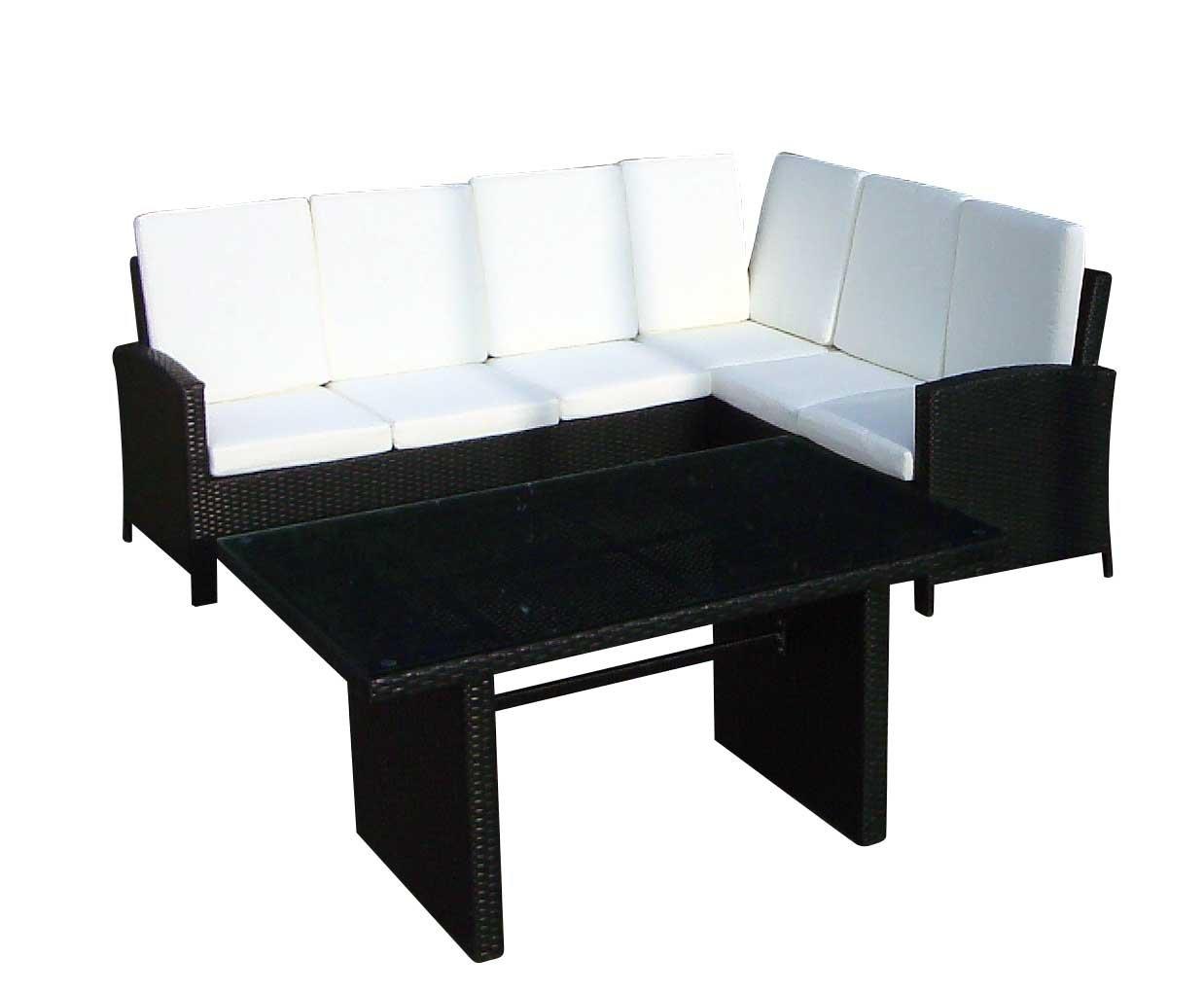 Baidani 10c00040.00001 Sitzgruppe Suntrap, 2-teilig, schwarz günstig bestellen