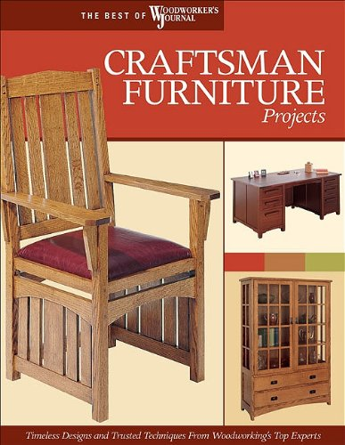 Craftsman Furniture Projects: Timeless Designs and Trusted Techniques from Woodworking's Top Experts (The Best of Woodworker's Journal series)