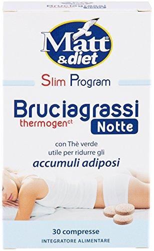 Matt&Diet Bruciagrassi Termogenico Notte - 10 gr