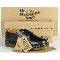 Dr.Martens   1461 3ホールブーツ  黒 牛革 [並行輸入品]  [堅い革]