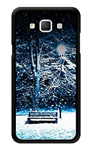"""Humor Gang Winter Night Snowing Printed Designer Mobile Back Cover For """"Samsung Galaxy A3"""" (3D, Glossy, Premium Quality Snap On Case)"""