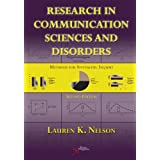 Research in Communication Sciences and Disorders: Methods for Systematic Inquiry