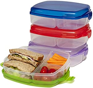 lunch box large plastic bento boxes lunch boxes set of 4 no. Black Bedroom Furniture Sets. Home Design Ideas