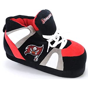 Tampa Bay Buccaneers UNISEX High-Top Slippers by Comfy Feet
