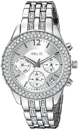 Relic Women's ZR15785 Merritt Stainless Steel Bracelet Watch