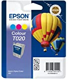 Epson Inkjet Cartridge Page Life 300pp Colour Ref T020401