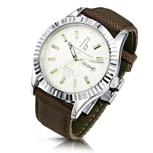 Alessandro Baldieri Men's Limited Edition Watch Retrospec Inox AB0051-INX