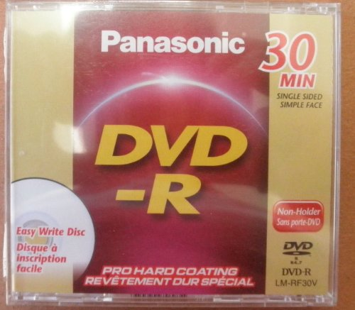 Panasonic LM-RF30V 8cm Single-Sided DVD-R Disc