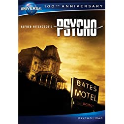 Psycho (1960) [DVD + Digital Copy] (Universal's 100th Anniversary)