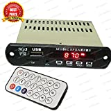 Mini Stereo Audio Amplifier MP3 Player,Card, USB, FM Radio, Aux IN & Remote, 12Volt (BY TRP TRADERS)