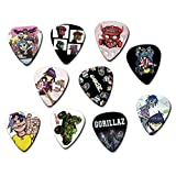 Gorillaz Classic Set of 10 Electric Acoustic Guitar Plectrums