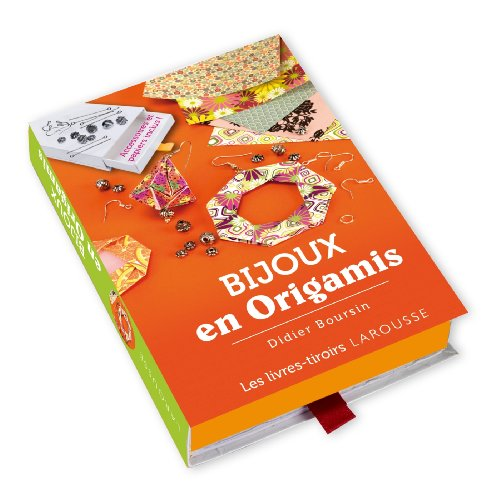 Bijoux en origamis (Livres-tiroirs)