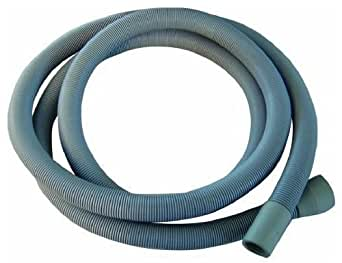 Extra Long 3.5m Length Universal Drain Hose For Washing Machine, Dishwasher & Other Applications, 2 Outlets 22mm & 29mm Bore - Please Check Pump Outlet Size..