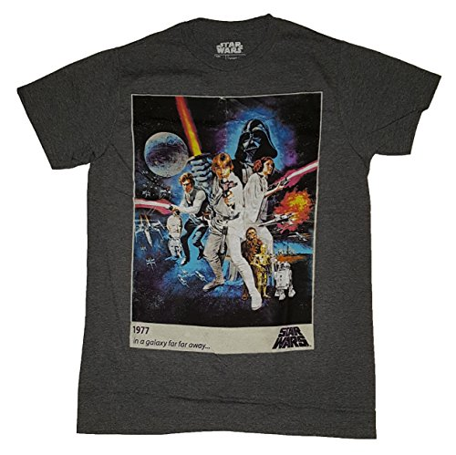 Star Wars A New Hope Movie Poster Graphic T-Shirt 0