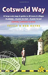 Cotswold Way, 2nd: British Walking Guide with 44 large-scale walking maps, places to stay, places to eat (Trailblazer)