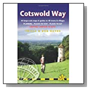 Cotswold Way, 2nd: British Walking Guide with 44 large-scale walking maps, places to stay, places to eat (Trailblazer) <b>Paperback</b>