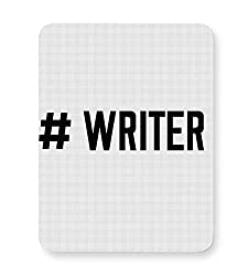 PosterGuy Writer Writer, Write, Cool, Hashtag, Typography, Type, Tweet, Social Mouse Pad