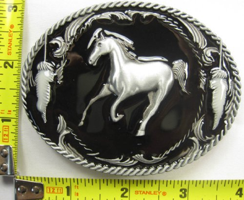 Horse Belt Buckle Cowboy Western Southwest