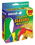 Maxell Multi-Color CD/DVD Sleeves - 1...