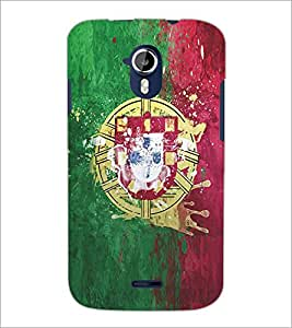 PRINTSWAG SYMBOL Designer Back Cover Case for MICROMAX A116 CANVAS HD