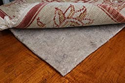 5x8 Mohawk Felt Rug Pads for Hardwood Floors-3/8 Inch Thick-Oriental Rug Pads-100% Recycled-Safe for All Floors