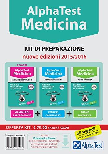 Alpha test Medicina odontoiatria veterinaria Kit di preparazione Con test di simulazione PDF