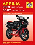 Aprilia RS50 RS125 Repair Manual Haynes Service Manual Workshop Manual 1993-2006