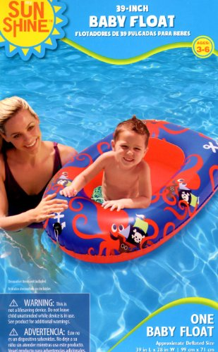 Sunshine 39-inch Baby Float - Octopus - 1
