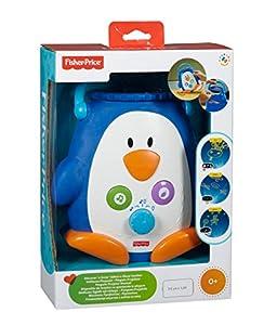 Mattel W9893 Fisher-Price - Pingüino proyector con música y luz - BebeHogar.com