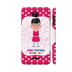 Colorpur Best Mother On Pink Polka Dots Designer Mobile Phone Case Back Cover For Coolpad Note 3 / Note 3 Plus   Artist: Designer Chennai