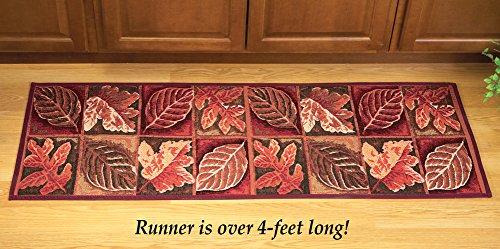 Autumn Leaf Tapestry Floor Runner