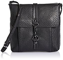 Kooba Handbags Maya Bubble Cross Body Bag, Black, One Size