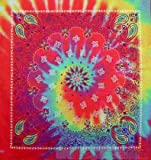 60s Paisley Tie Dye Bandana