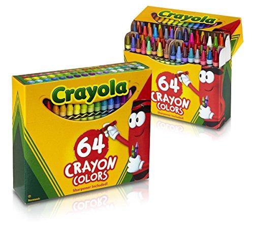 2 PACK Crayola 64 Ct Crayons (52-0064)