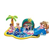 Banzai drinking water Slide:Six Flags my personal First Splish dash Pool