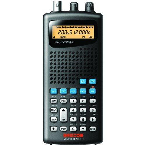 GRE PSR100 200-Channel Handheld Analog Scanner