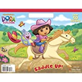 Saddle Up! (Dora the Explorer) (Big Coloring Book)